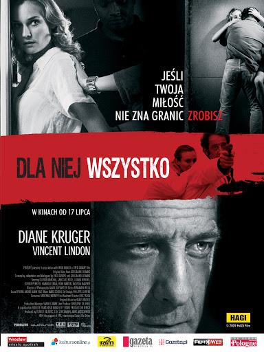 Polski plakat filmu 'Dla Niej Wszystko'