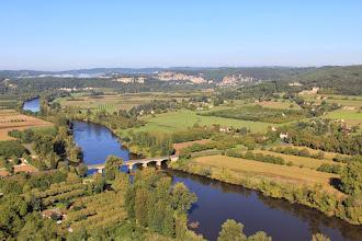 Photo: uitzicht op Dordogne vanaf Domme