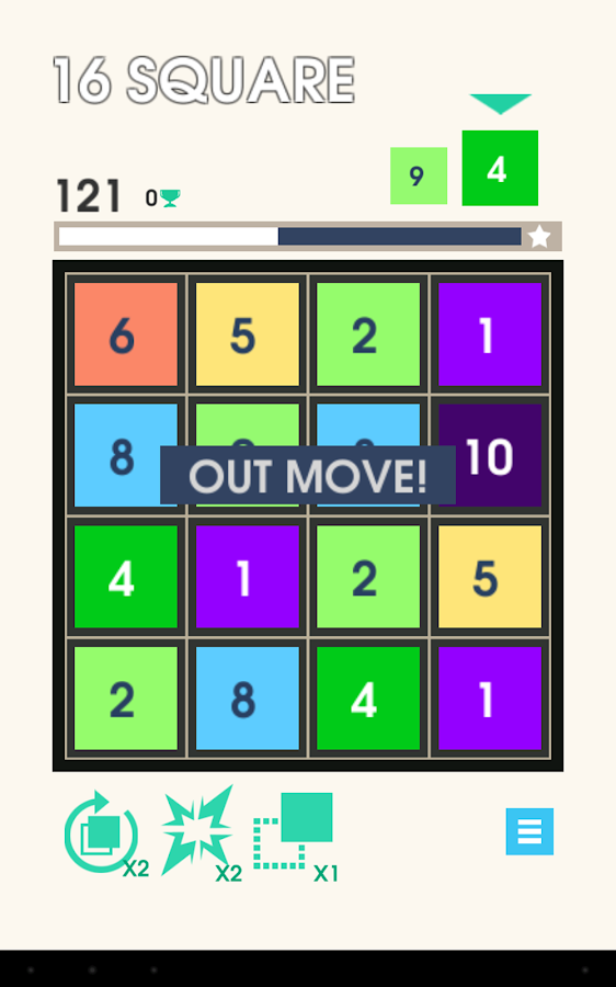 16 Squares- screenshot