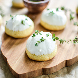 Cornmeal Olive Oil Cookies with Lemon and Thyme