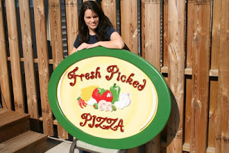 Photo: Fresh Picked Pizza of Arden Hills off of 96 and Lexington www.FreshPickedPizza.com more wood signs at www.nicecarvings.com