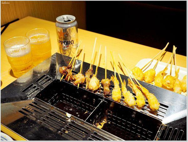 南港CITY LINK 串家物語 - 自己的串燒自己炸,90分鐘吃到飽,還有冰淇淋與啤酒