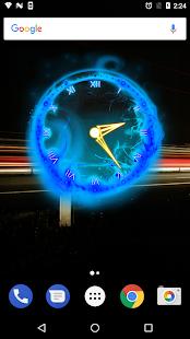 Fire Clock Analog Widget - náhled