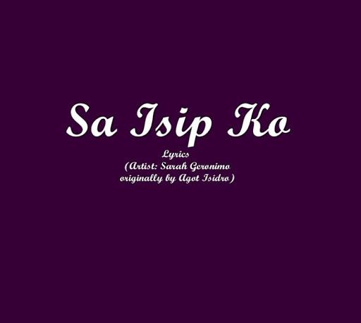 Sa Isip Ko Lyrics