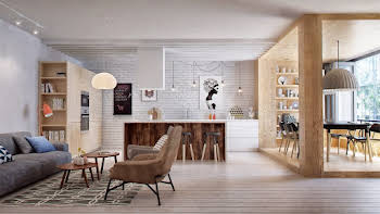 Appartement 4 pièces 100,74 m2