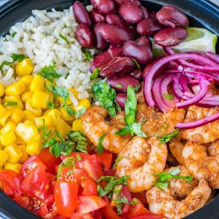 Shrimp Burrito Meal Prep Bowls.