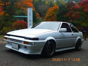 スプリンタートレノ AE86 60年式GT'APEXのカスタム事例画像 豊田蜂六さんの2020年11月08日11:43の投稿