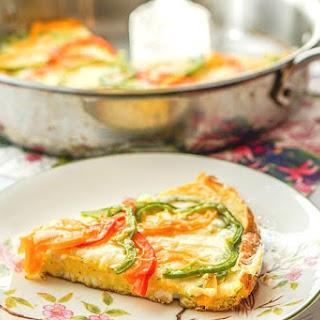Pepper & Gruyere Frittata (Low Carb) Recipe