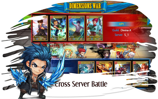 Manga Clash - Warrior Arena  captures d'écran 2