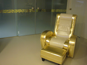 Photo: Living Area - Gold Col Rocking Chair