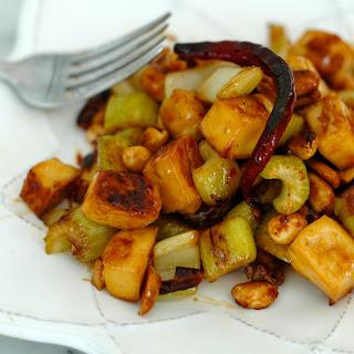 Celery, Tofu, and Peanut Stir-Fry Recipe