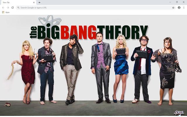 The Big Bang Theory New Tab Theme