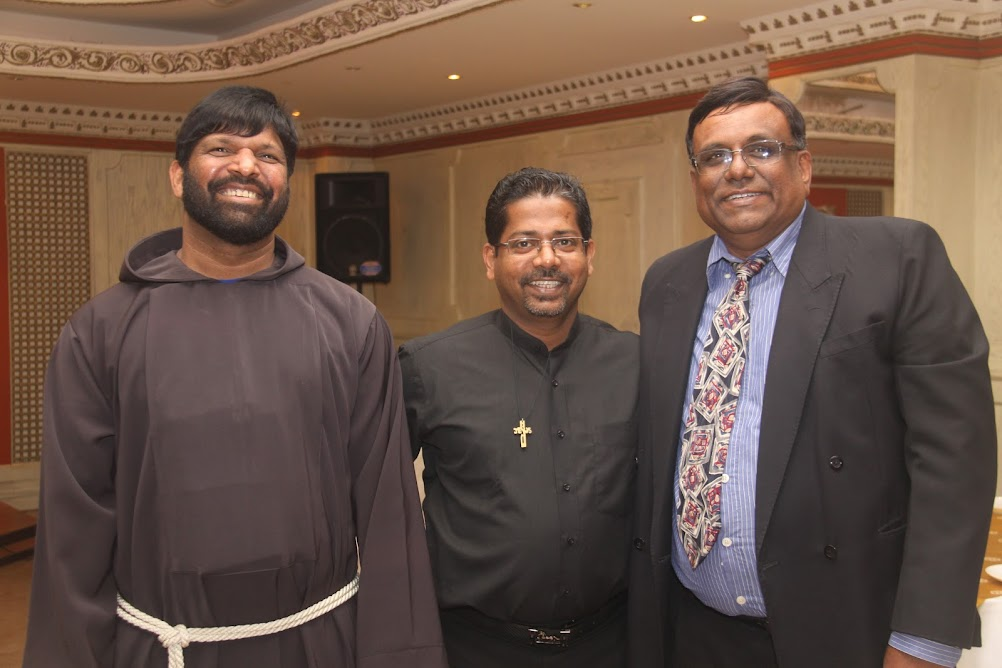 SHC Konkani Community - Dinner with Archbishop Filipe Neri Ferrao