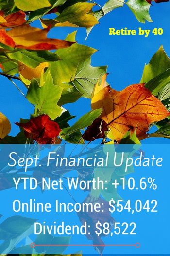 September Financial Update