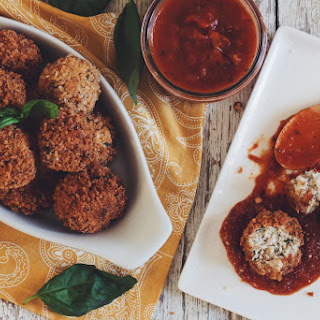 Vegan Cauliflower Arancini →