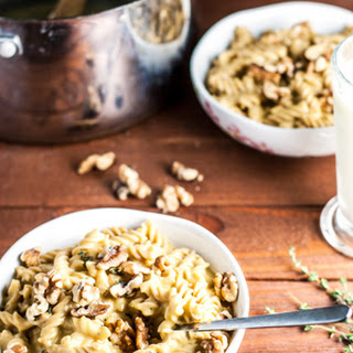 Apple Cider and Butternut Squash Mac and Cheese
