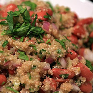 Lemon and Bean Quinoa Salad.
