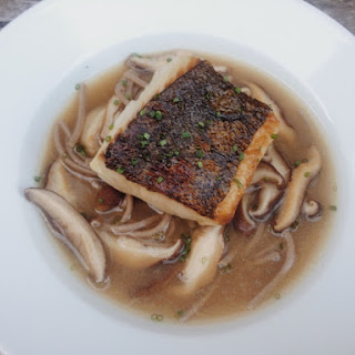 Ginger Sablefish with Braised Shiitake