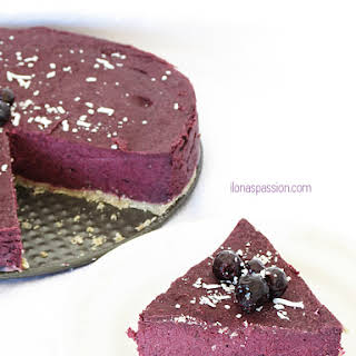 Vegan Blueberry Cake.
