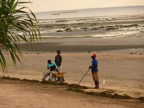 Photo: Pracovní nasazení africkych občanů ;o) / Working style of african citizens ;o)