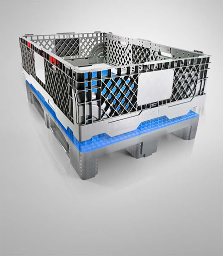 Added value for logistics: The Euro Pallet Collar CC1 from Craemer