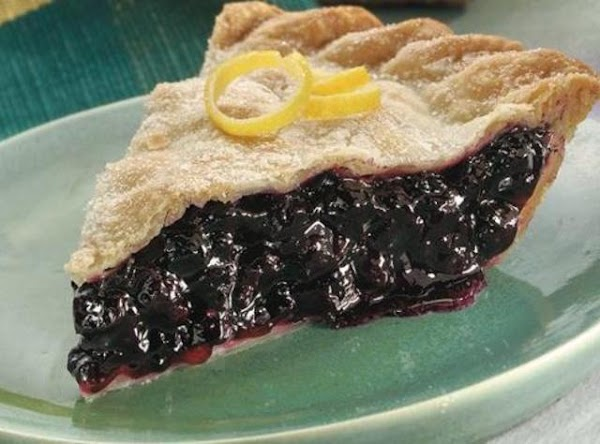 Ginger Lemon Blueberry Pie Recipe