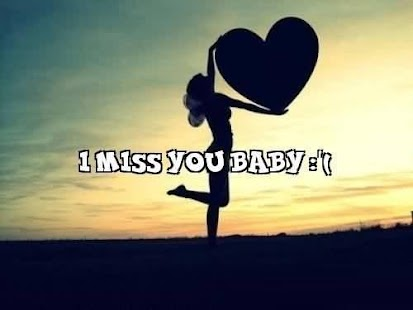 I Miss You Quotes & Pictures - náhled