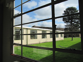 Photo: View into the courtyard outside Bredon Building