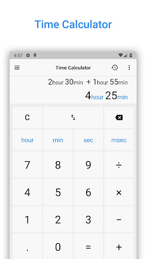 Time Calculator: Hours Work & Time Between 3.98 androidtablet.us 1