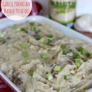 Slow Cooker Garlic Parmesan Mashed Potatoes