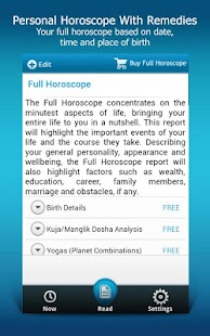 Horoscope & Predictions- screenshot thumbnail