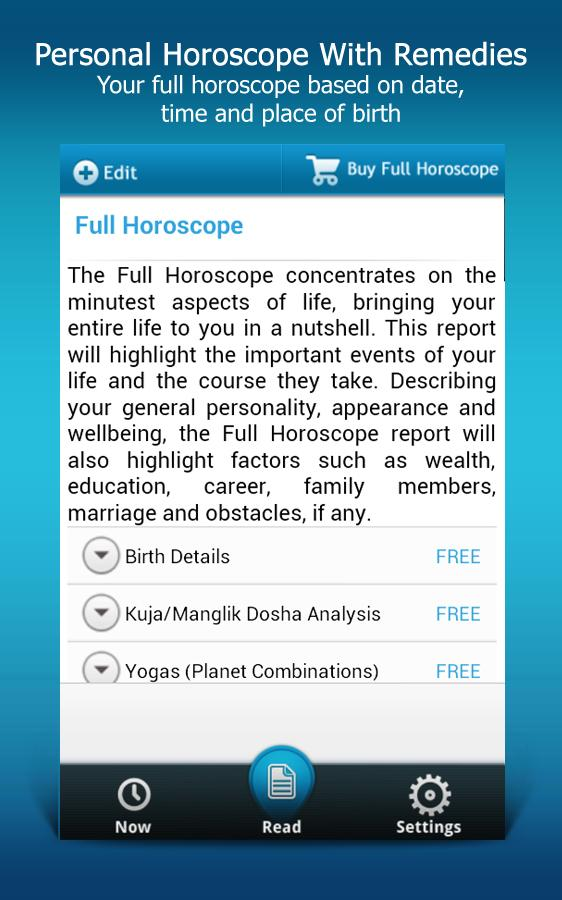 Horoscope & Predictions- screenshot