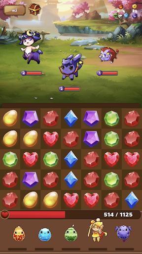 Monster House: Legendary Puzzle RPG Quest 9.9 screenshots 15