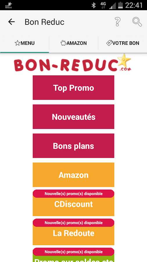 Bon Reduc : code promo et deal- screenshot