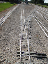 Photo: Passenger station bypass track leads to the Classification Yard.  HALS 2009-0620