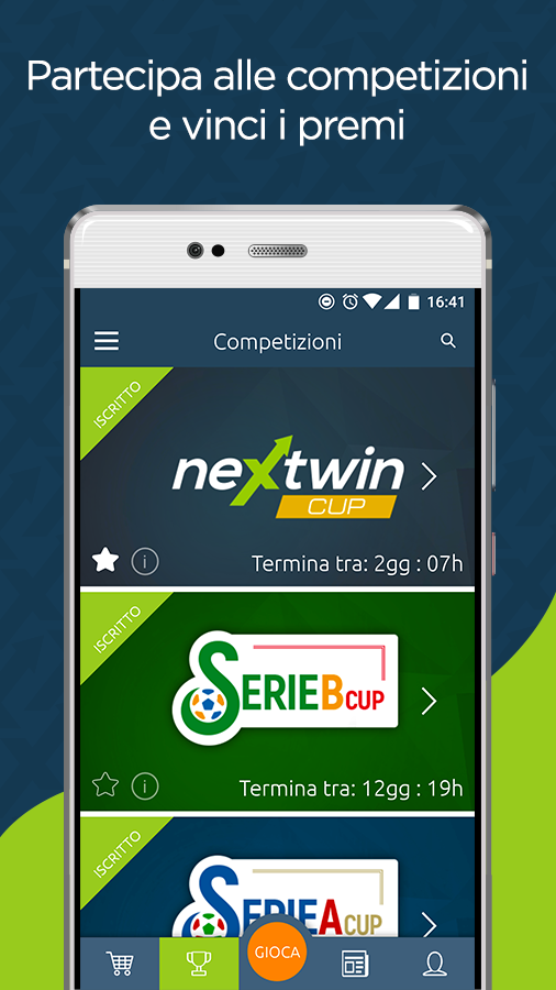 Nextwin - Pronostici sportivi- screenshot