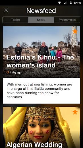 Screenshot 4 for Al Jazeera's Android app'