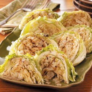 Grilled Cabbage.