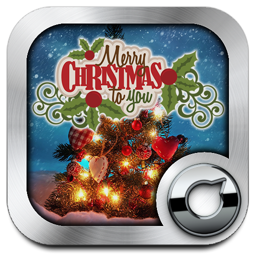 Merry Christmas Solo Launcher Theme Android APK Download Free By RIU Design