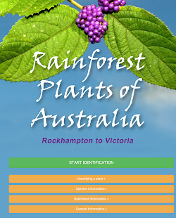 Rainforest Plants of Australia- screenshot thumbnail