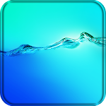 Galaxy Water Live Wallpaper Icon