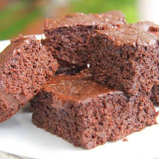 Chocolate & Coffee Brownies (Coconut Flour & Chia Seed).