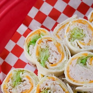 Turkey, Onion and Chive Pinwheels Recipe