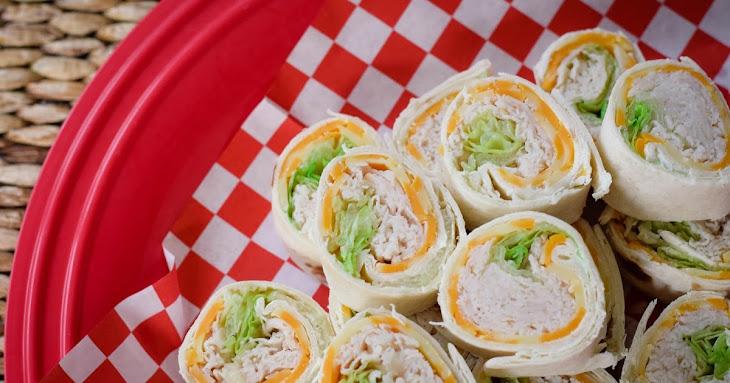 Turkey, Onion and Chive Pinwheels Recipe