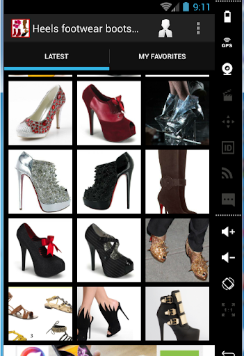 Heels footwear boots fashion