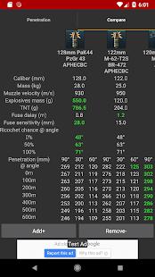 War Thunder Ballistix   Penetration calculator