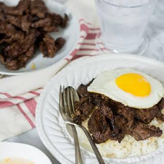 Beef Tapa.