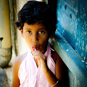 Relish by Vamsi Korabathina - Babies & Children Child Portraits ( child, pwclollipop, lollipop, children, relish, kids )
