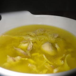 Sopa de fideos (Spanish Chicken Noodle Soup)