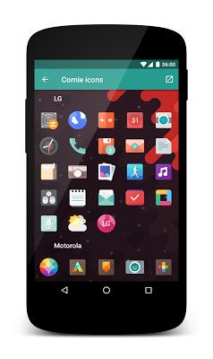 Cornie icons- screenshot